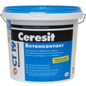 Грунтовка бетоноконтакт: характеристики и применение
