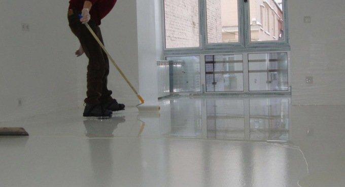 Грунтовка для бетонной и цементной стяжки особенности применения