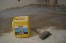 Грунтовка для пола под плитку: виды грунта, особенности и процедура грунтования бетонного пола