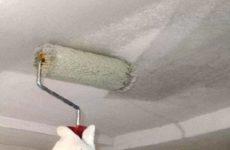 Грунтовка потолка под покраску — выбор материалов, этапы работ, советы