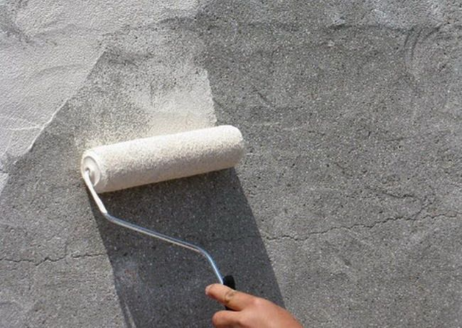 как нанести бетоноконтакт